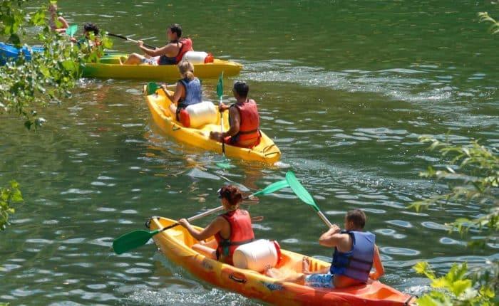 Parcours évasion en canoë kayak