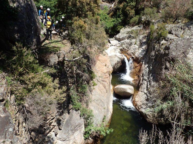 Vue sur le canyon du Rec Grand