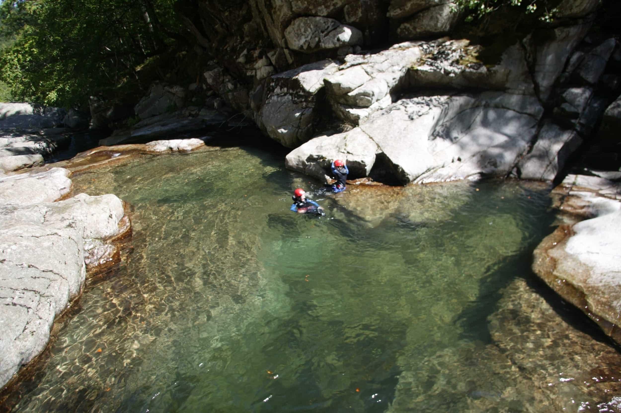 Bassin naturel du Canyon de la Dourbie