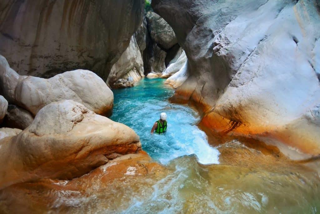 Canyon de Lycie en Turquie