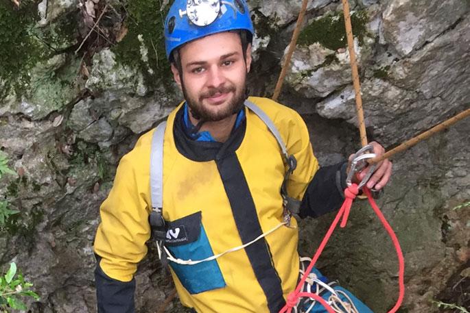 Florian, guide et moniteur au Bureau des moniteurs