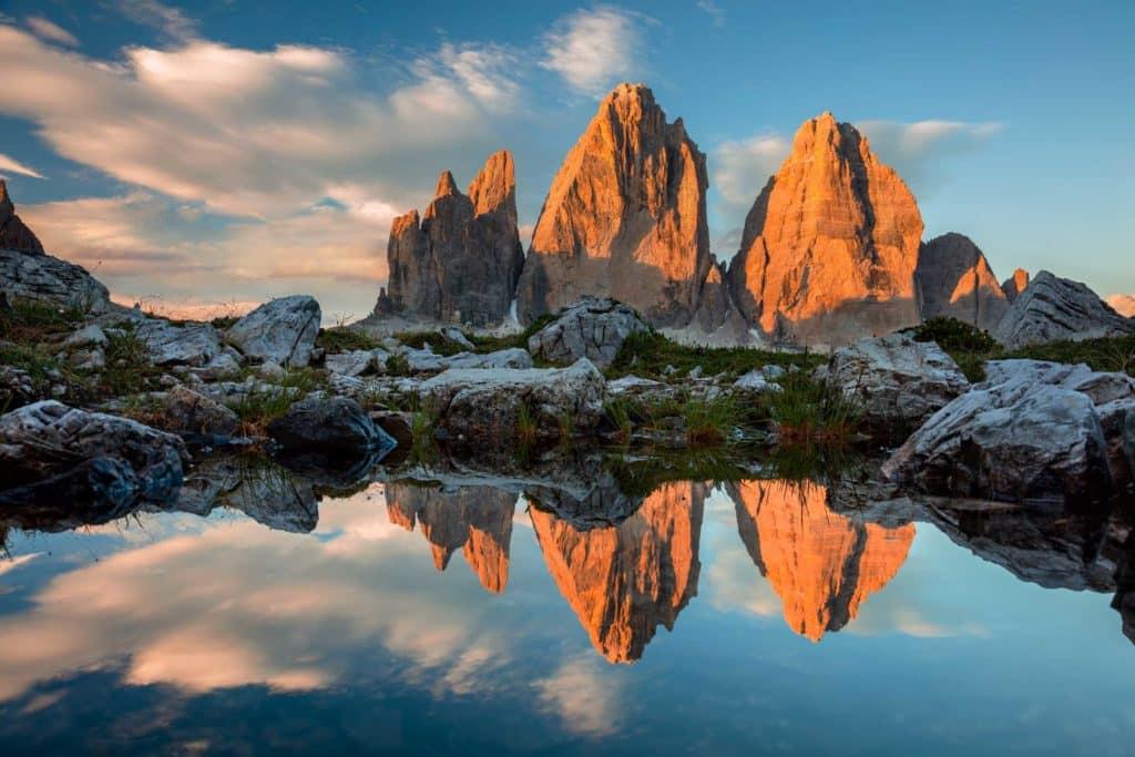 Dolomites en Italie
